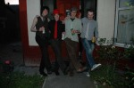 Our first band picture - some of our ideas perhaps not fully formed.